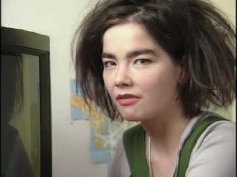 Björk talking about TV