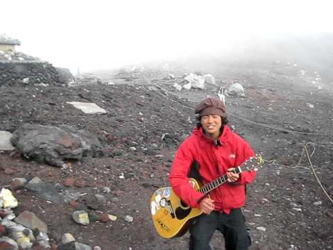 'Bob Dylan' On Mt. Fuji