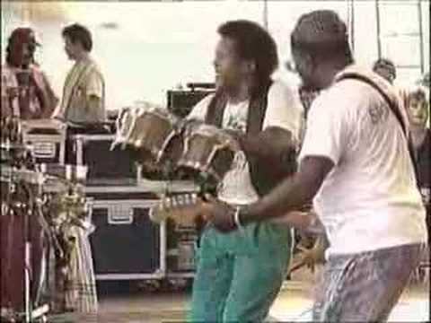 Curtis Mayfield | Move On Up (Live Parkpop 1987)