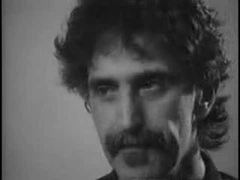 Frank Zappa on the music industry