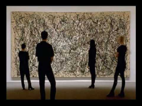 Jackson Pollock about painting
