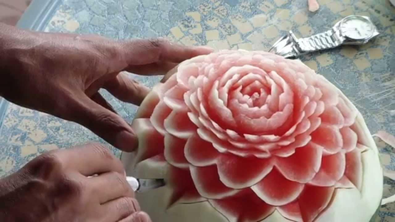 Koy Touch | Fruit Carving Demonstration
