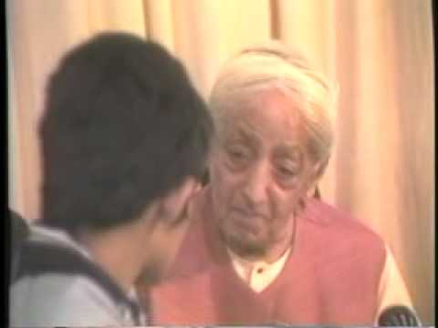 Krishnamurti talking with children
