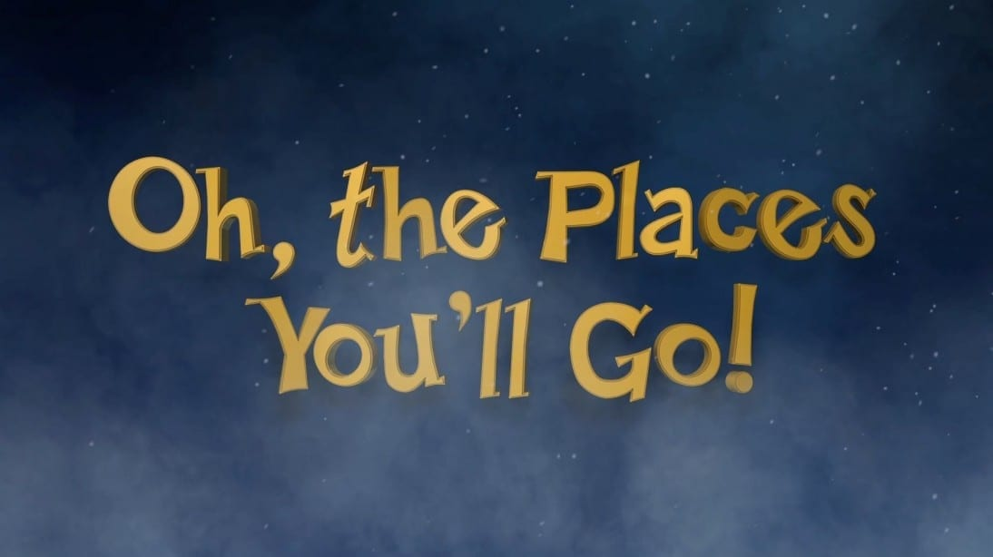 Oh, the Places You'll Go! (@ Burning Man)
