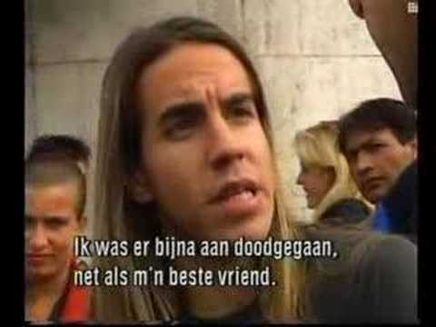 Red Hot Chili Peppers Interview 1989