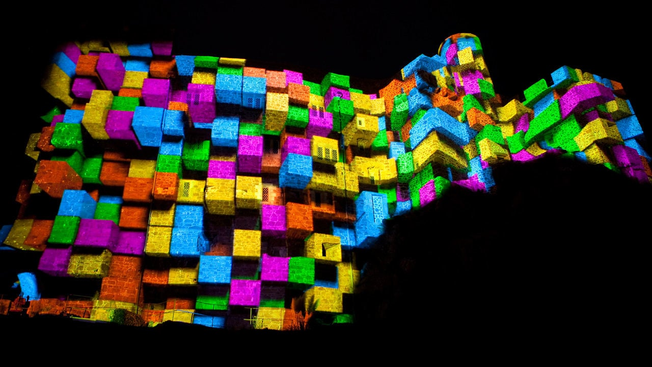 Seeper | Architectural Projection Mapping